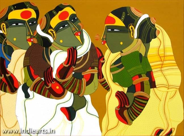 Thota Vaikuntam Women in Gossip