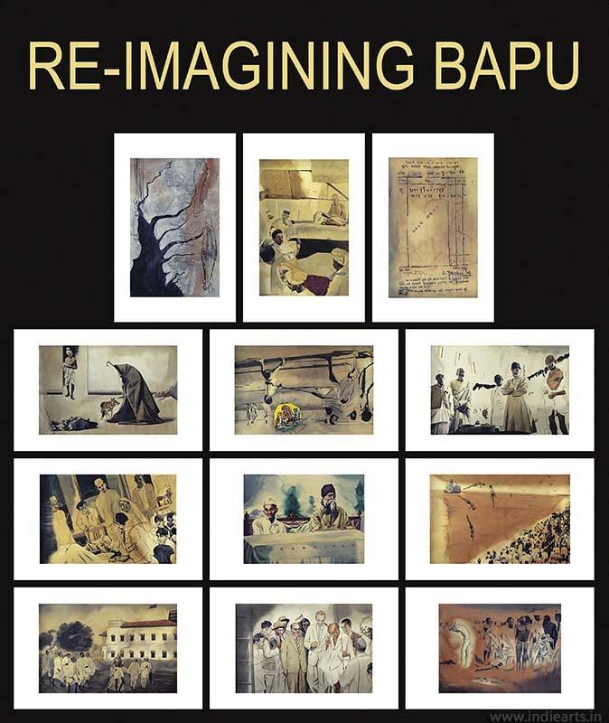 Atul Dodiya Re-Imagining Bapu